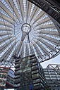 Germany, Berlin, roof of Sony Center at Potsdamer Platz - AS005386