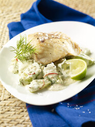 Coalfish fillet with dill gherkins - SRS000501