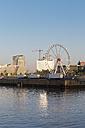 Germany, Hamburg, ferris wheel in Hafencity - MSF003994