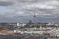 Germany, Berlin, view over Berlin Mitte with television tower - ZMF000279