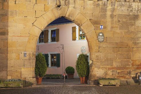 Germany, Rhineland-Palatinate, Freinsheim, Eisentor gate - GWF002871