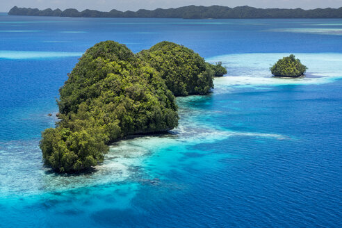 Micronesia, Palau, small islands in the ocean - JWAF000061