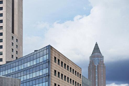 Germany, Hesse, Frankfurt, Trade fair premises, Messe Torhaus and Trade Fair Tower - BSC000424