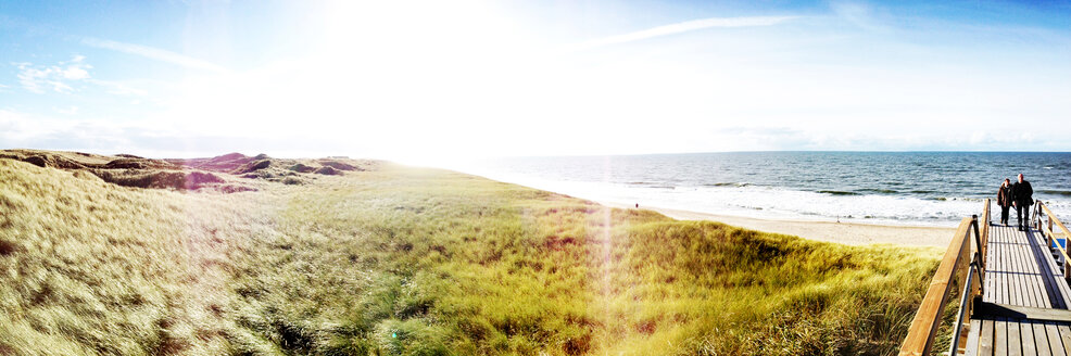 Panorama with Gegenlichgt on Sylt, Germany - BMA000001
