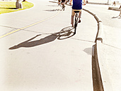 Cycling in Santa Monica, United States - BMA000028