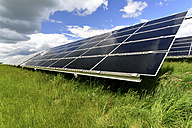 Germany, photoelectric cells of solar power plant - LY000062