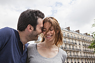 France, Paris, couple having fun - FMKF001303