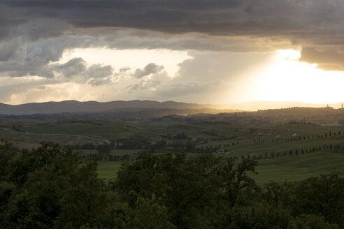 Italy, Tuscany, Siena, Sunset - MYF000384