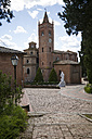 Italy, Tuscany, Abbey of Monte Oliveto Maggiore - MYF000381