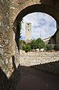 Italy, Tuscany, San Gimignano, Dynasty tower - MYF000367