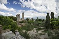 Italy, Tuscany, San Gimignano, Dynasty towers - MYF000377