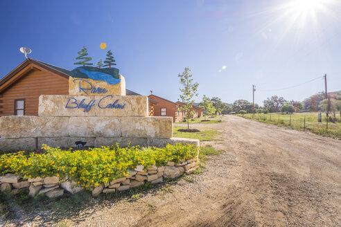 USA, Texas, Log Homes Vacation Resort - ABAF001351
