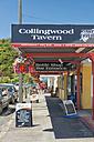 New Zealand, Tasman, Golden Bay, Collingwood, shops in the town center - SH001468