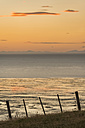 New Zealand, Golden Bay, Puponga, dusk in Golden Bay - SHF001482