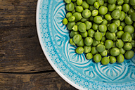 Green peas in a bowl - LVF001472