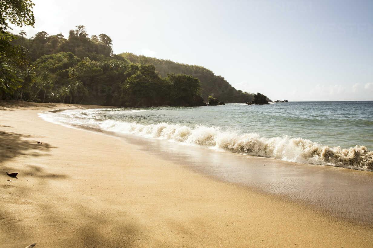 Caribbean, Trinidad and Tobago, Tobago, Englishman's Bay beach - SKF001548 - Carlos Hernandez/Westend61