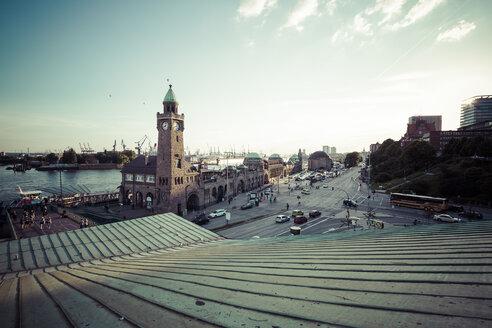 Germany, Hamburg, St Pauli Landing Stages - KRPF000579