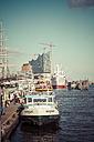 Germany, Hamburg, View of harbour - KRP000614