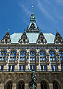 Germany, Hamburg, town hall - VI000280