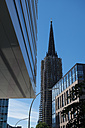 Germany, Hamburg, office building and Nikolai Church - VI000282
