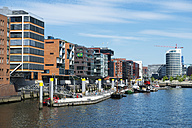 Germany, Hamburg, HafenCity, view to Sandtorkai - VI000293