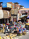 Morocco, Marrakech, Marrakech-Tensift-Al Haouz, shop at the souk - AM002453