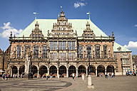 Germany, Bremen, Bremen Town Hall at market square - WI000825