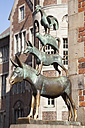 Germany, Bremen, Sculpture, Town Musicians of Bremen - WIF000827