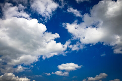 Clouds in the sky, Bavaria, Germany - MAEF008529
