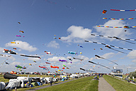 Germany, Lower Saxony, Norden, Norddeich, International Kite Festival - WI000860