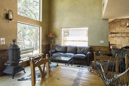 USA, Texas, Farm House Interior - ABAF001425