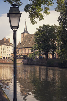 France, Strasbourg, Saint Nicolas Church at River Ill - MEMF000261