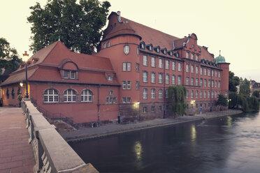 France, Strasbourg, Ecole de musique Saint Thomas at River Ill - MEMF000271