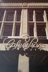 Germany, Saxony, Dresden, facade of Cafe Prag, partial view - EL001131