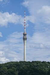 Germany, Saxony, Dresden, view to television tower - ELF001139