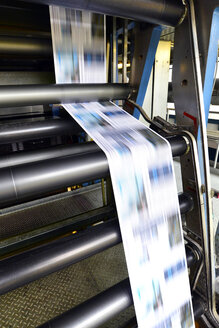 Printing of newspapers in a printing shop - SCH000336