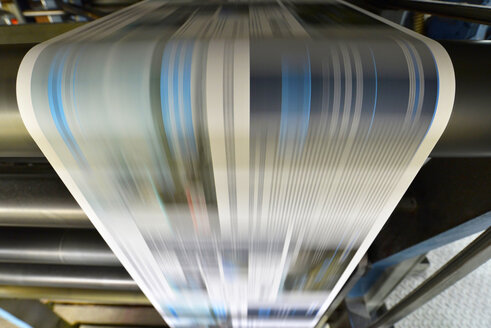 Printing of newspapers in a printing shop - SCH000338