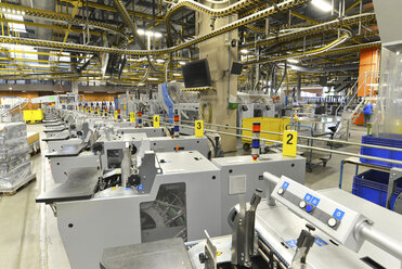 Modern industrial machines in a printing shop - SCH000371