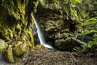 Germany, Bavaria, Allgaeu Alps, Hinanger Waterfall - STSF000433