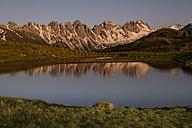 Austria, Tyrol, Salfeinssee - MKFF000001