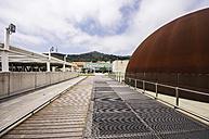 Spain, Barcelona, exterior of museum CosmoCaixa - THAF000507