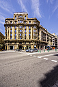 Spain, Barcelona, street in district Sant Pere - THAF000530