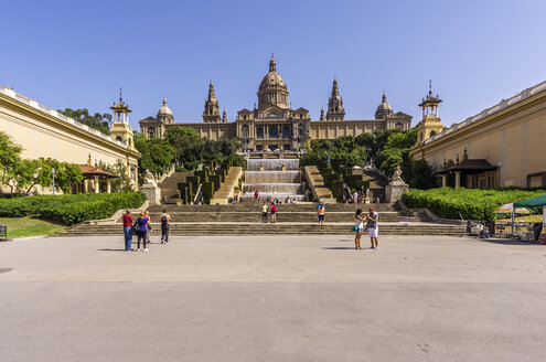 Spain, Barcelona, Palau Nacional - THAF000559
