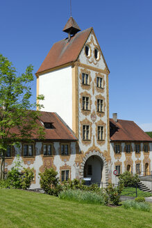 Germany, Baden-Wuerttemberg, Rot an der Rot, Upper Gate, Former Imperial Abbey - LB000823