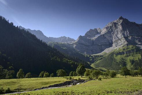 Austria, Tyrol, Hinterriss, Ahornboden - MKFF000013
