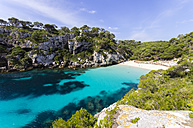 Spain, Balearic Islands, Menorca, Macarella, Cala Macarelleta, Beach - SMAF000225