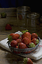 Fresh strawberries in a basket - ASF005449
