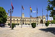 Spain, Castile and Leon, Province of Leon, Leon, Parador de Leon, Plaza de San Marcos - LAF001124