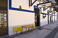 Spain, Castile and Leon, Province of Leon, Leon, old railway station - LA001128