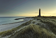 Denmark, Skagen, lighthouse at the beach - HCF000052